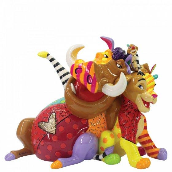 Sammelfigur Disney König der Löwen, Simba, Timon & Pumba