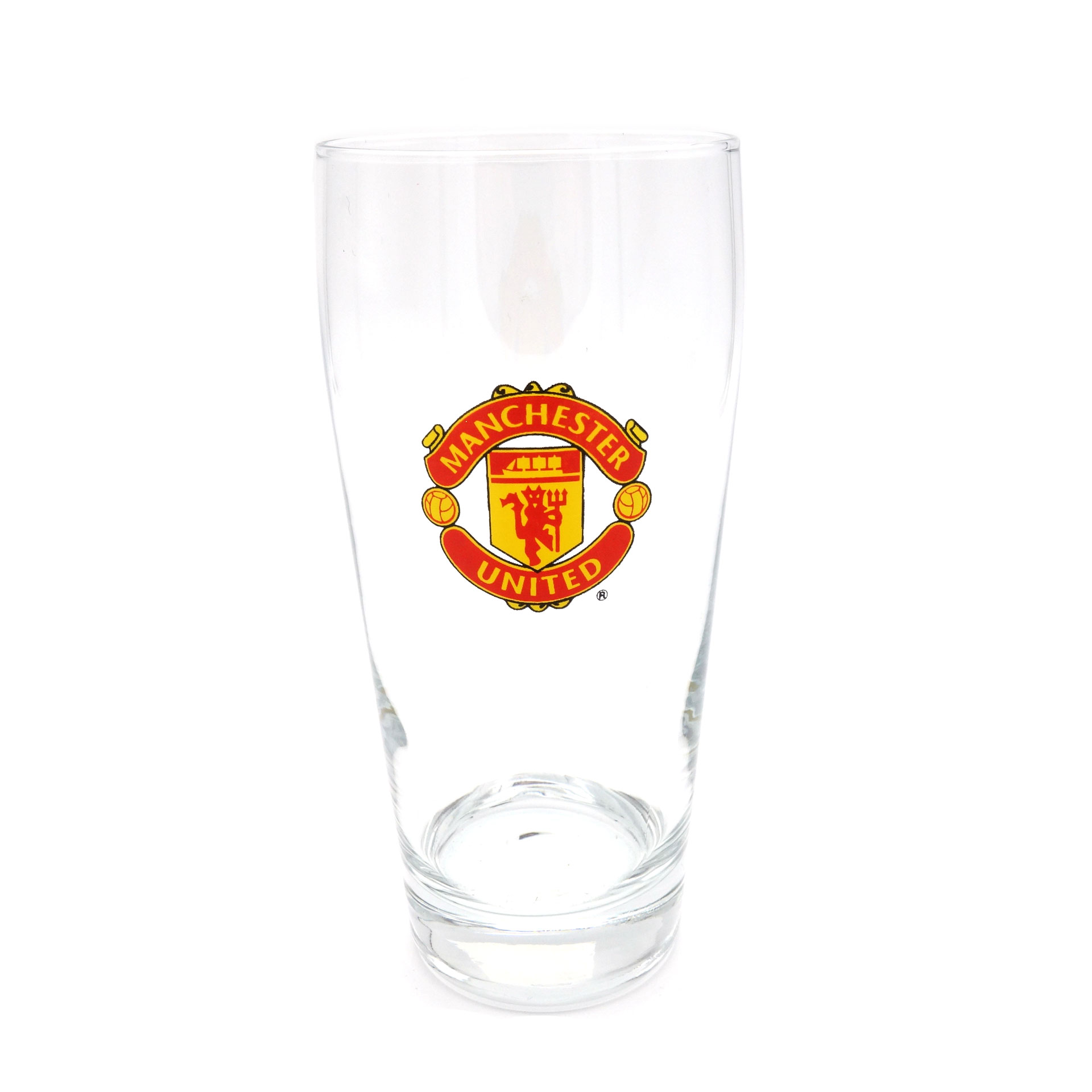 Manchester United Trinkglas