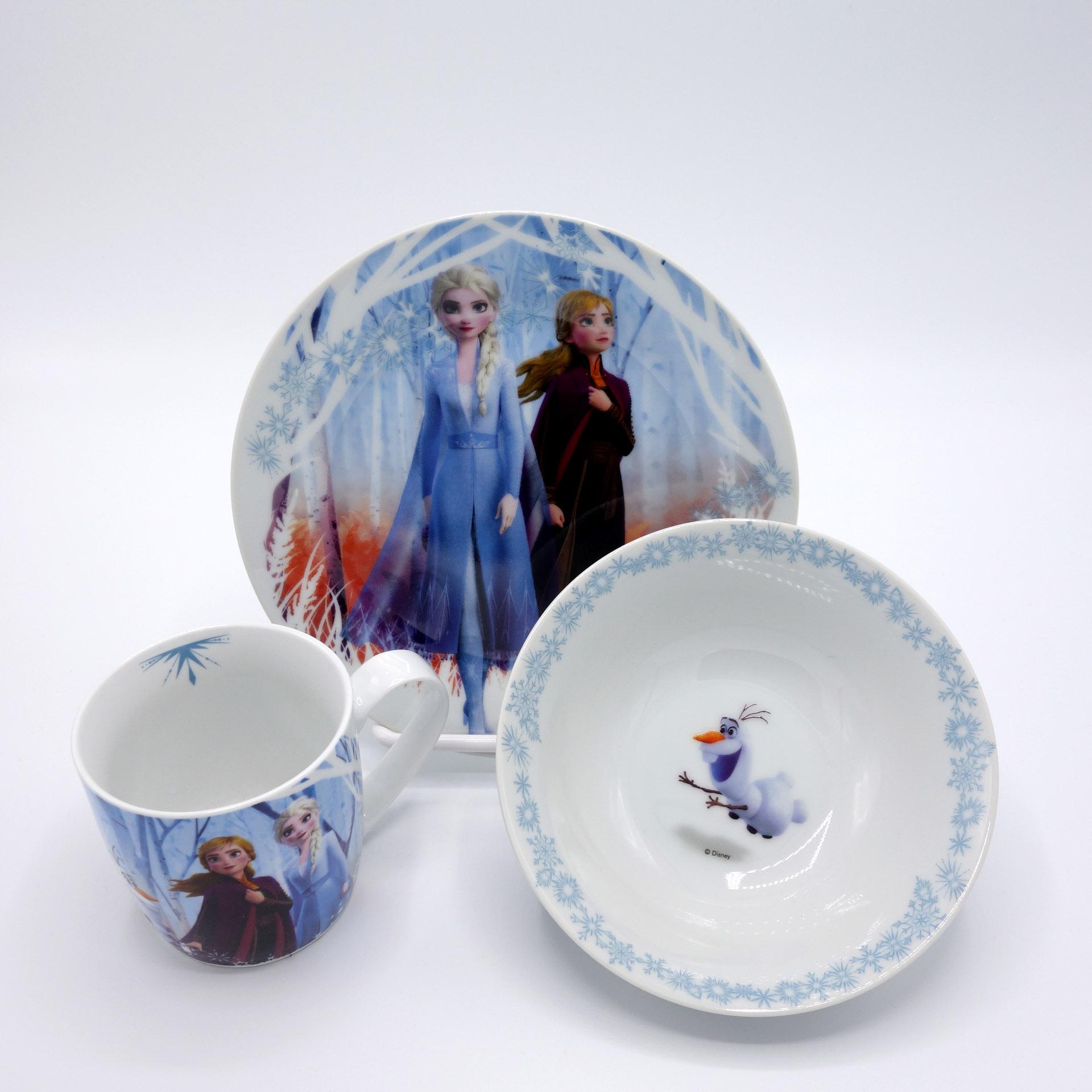 Disney Frozen Die Eiskönigin Kinder Frühstücksset 3teilig