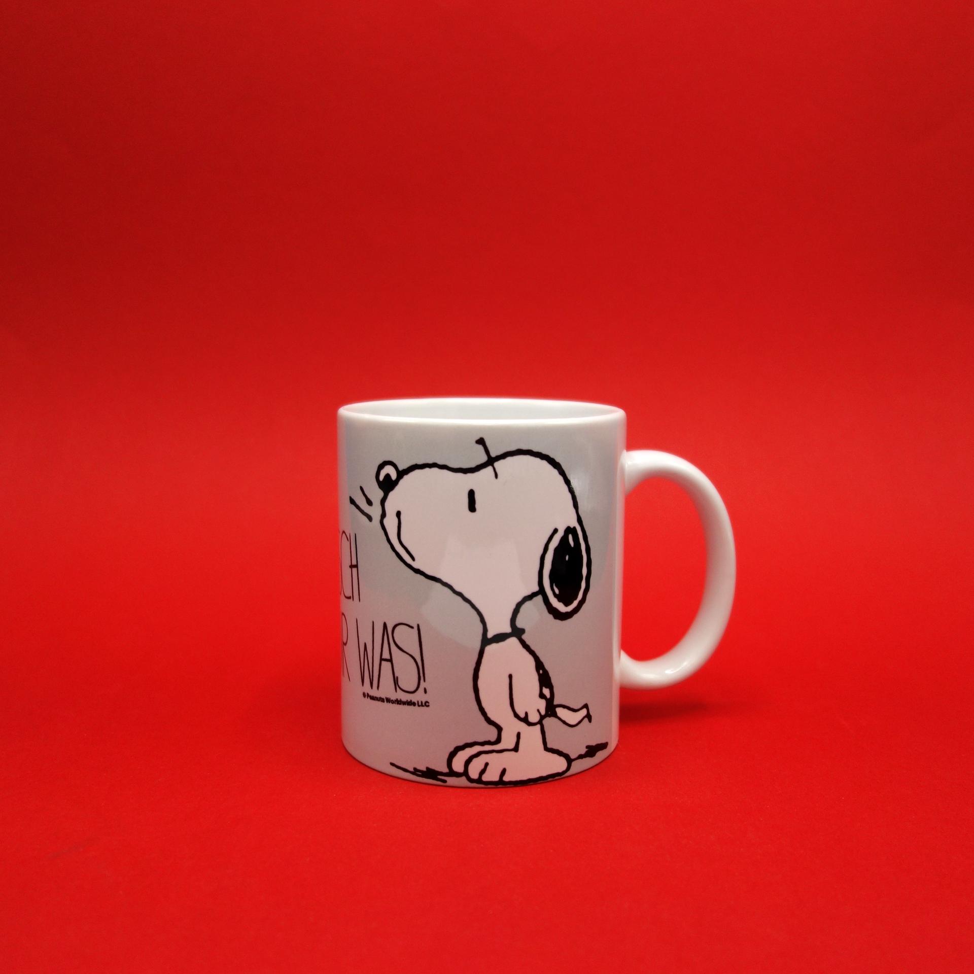 Snoopy Peanuts Tasse Wünsch Dir Was!