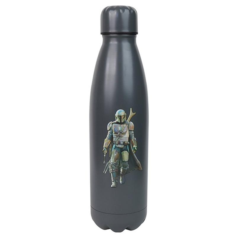 Der Mandalorian Metall Trinkflasche, Water Bottle