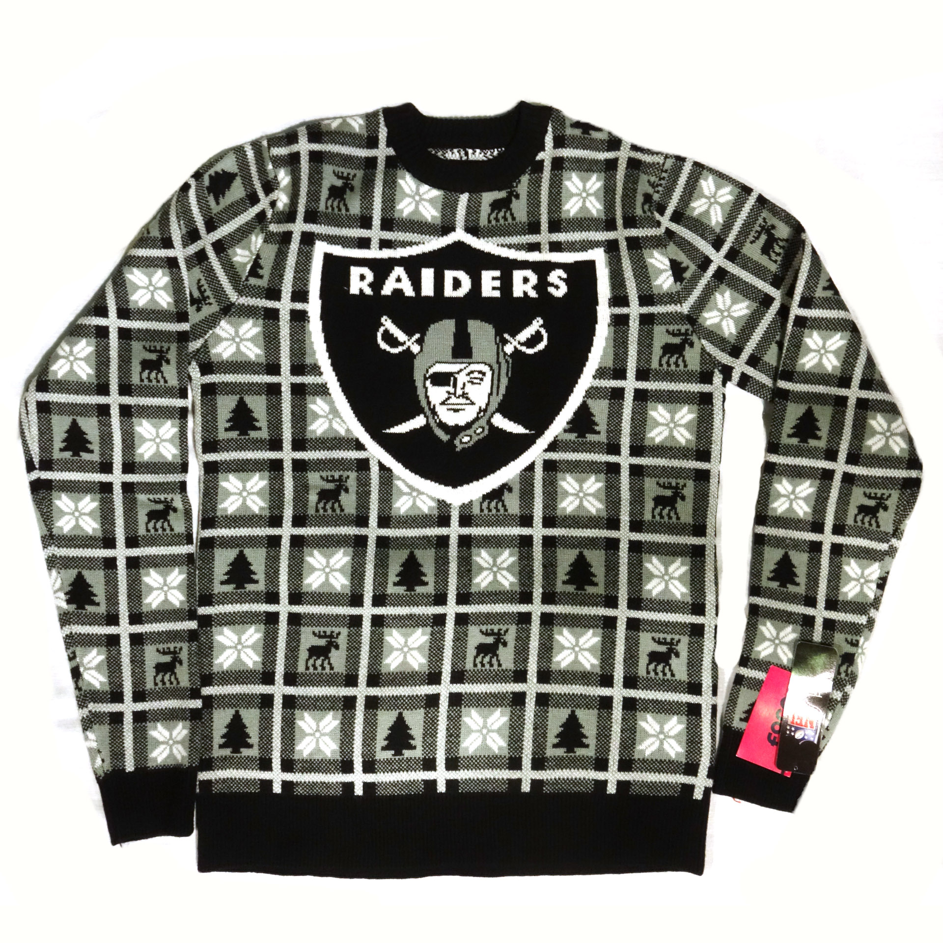 NFL Pullover Christmas Las Vegas Raider Ugly Sweater