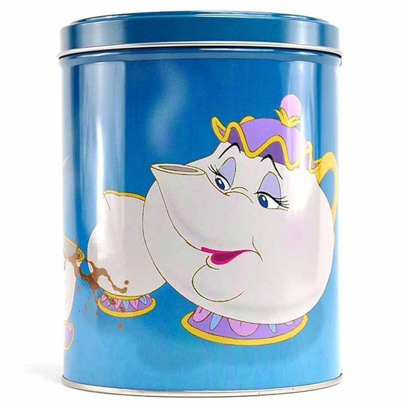 """Disney Die Schöne und das Biest Dose Aufbewahrungsdose Büchse Box """"Mrs. Potts and Chip"""""""