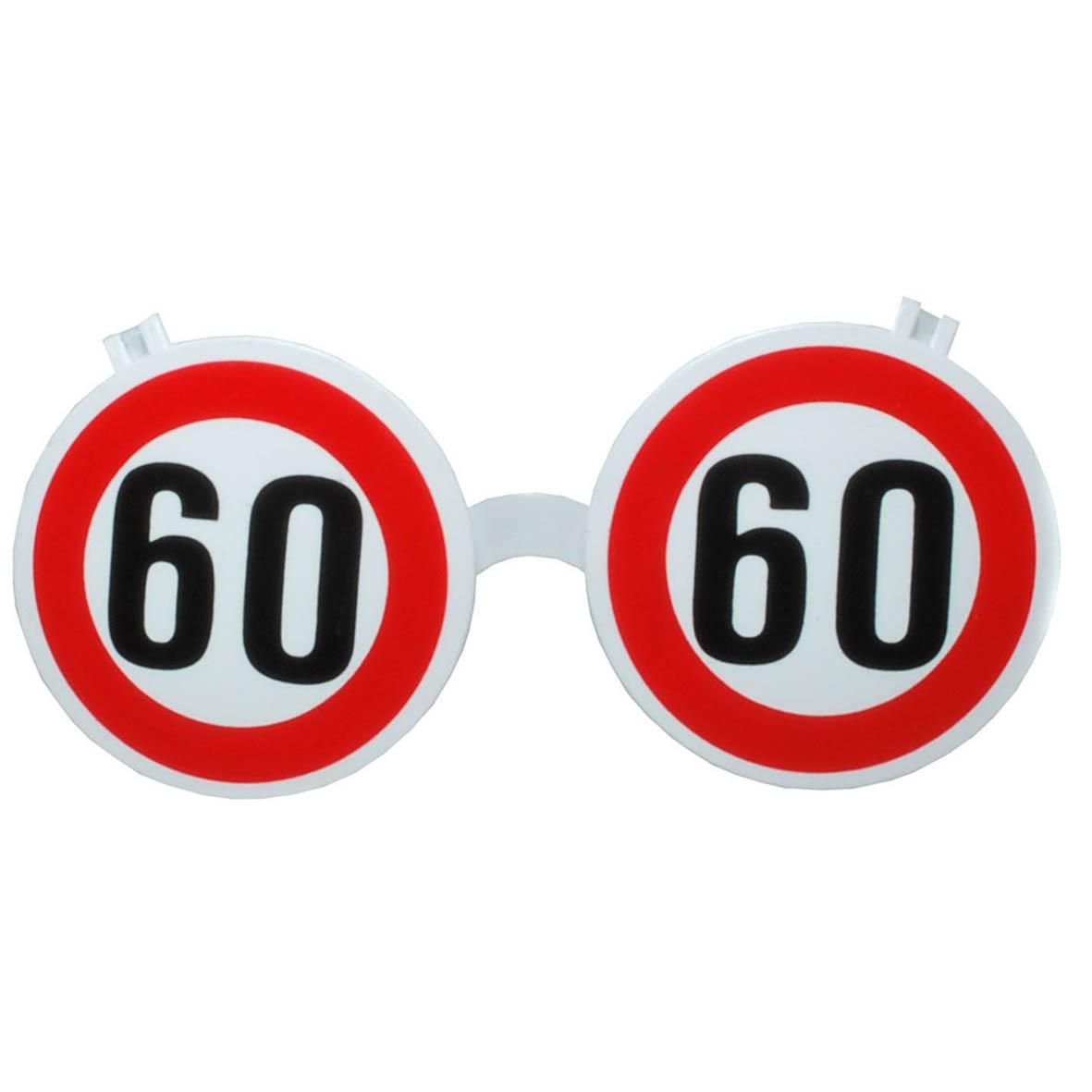 """Geburtstagsgeschenk Sonnenbrille """"60"""" Brille Geschenkidee"""