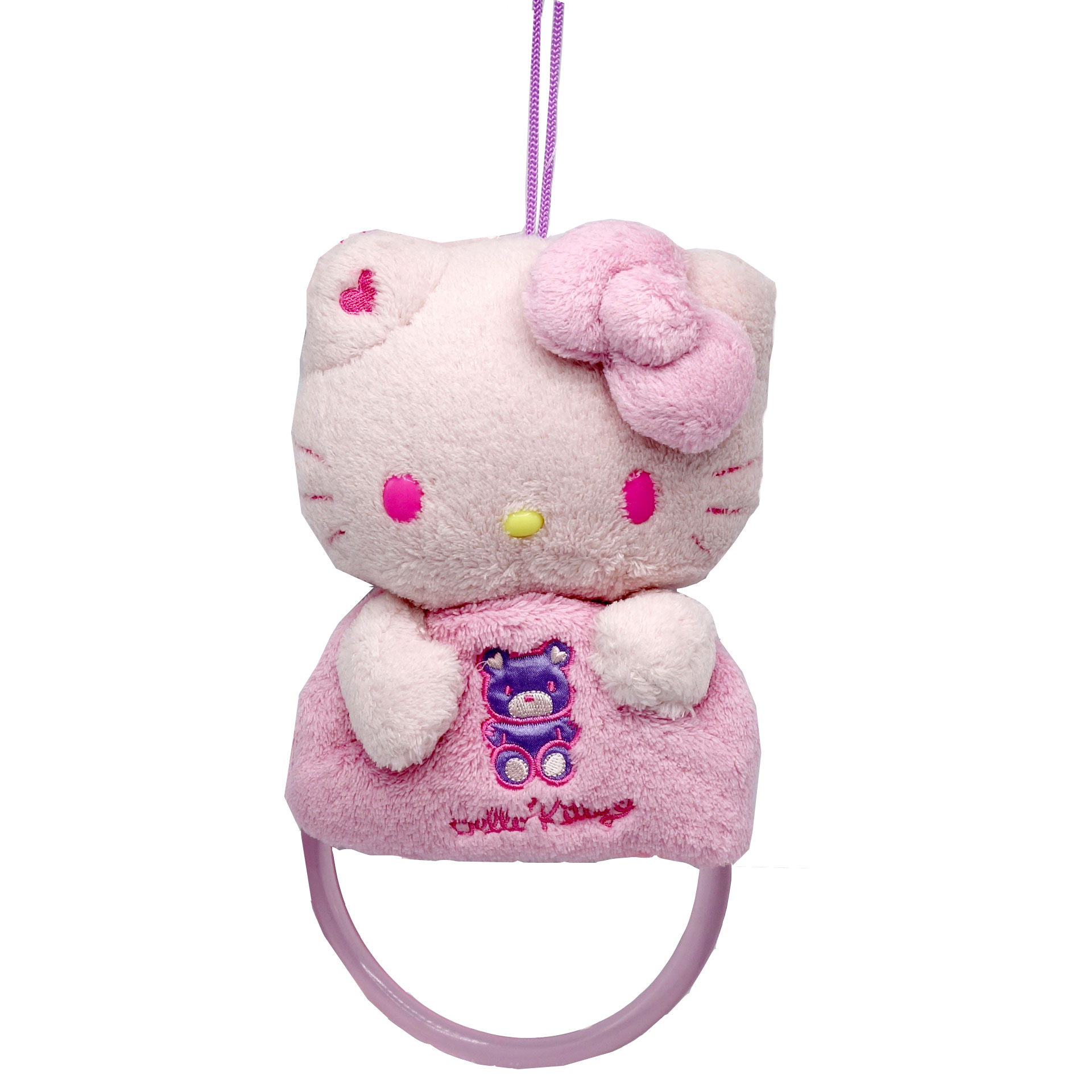 Hello Kitty Baby Greifring Rosa
