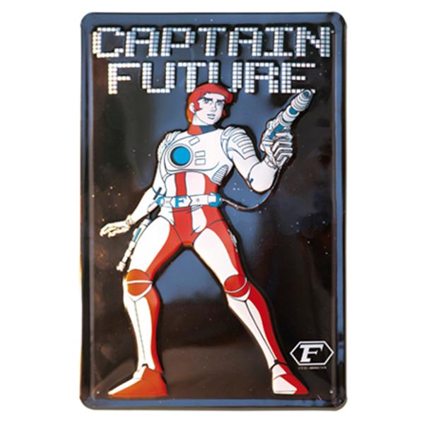 Embossed Tin Sign - Captain Future Blechschild