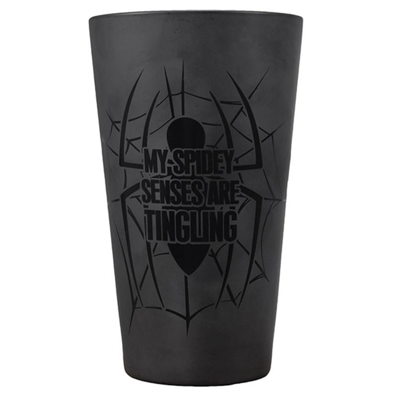 Spiderman Glas Trinkglas Large Glass