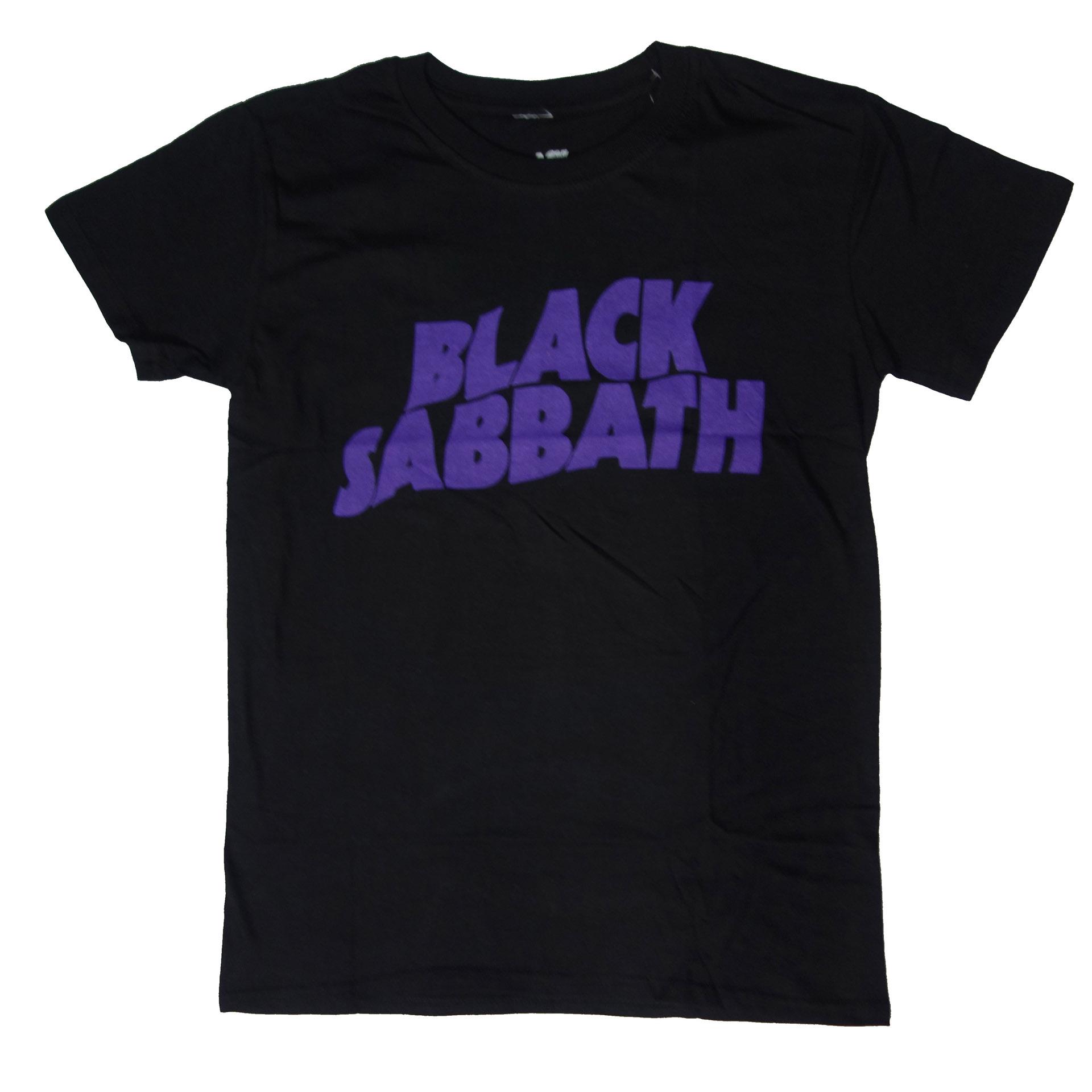 T-Shirt Black Sabbath Wavy Logo