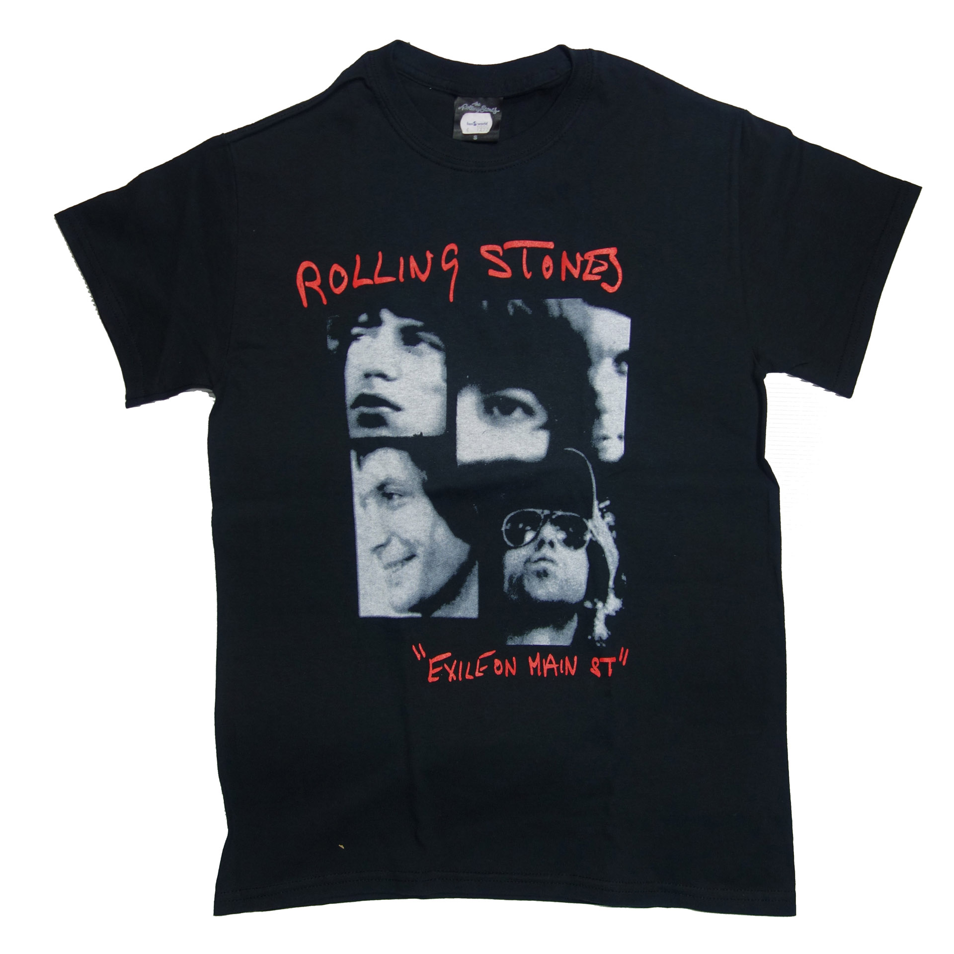 T-Shirt The Rolling Stones Photo Exile