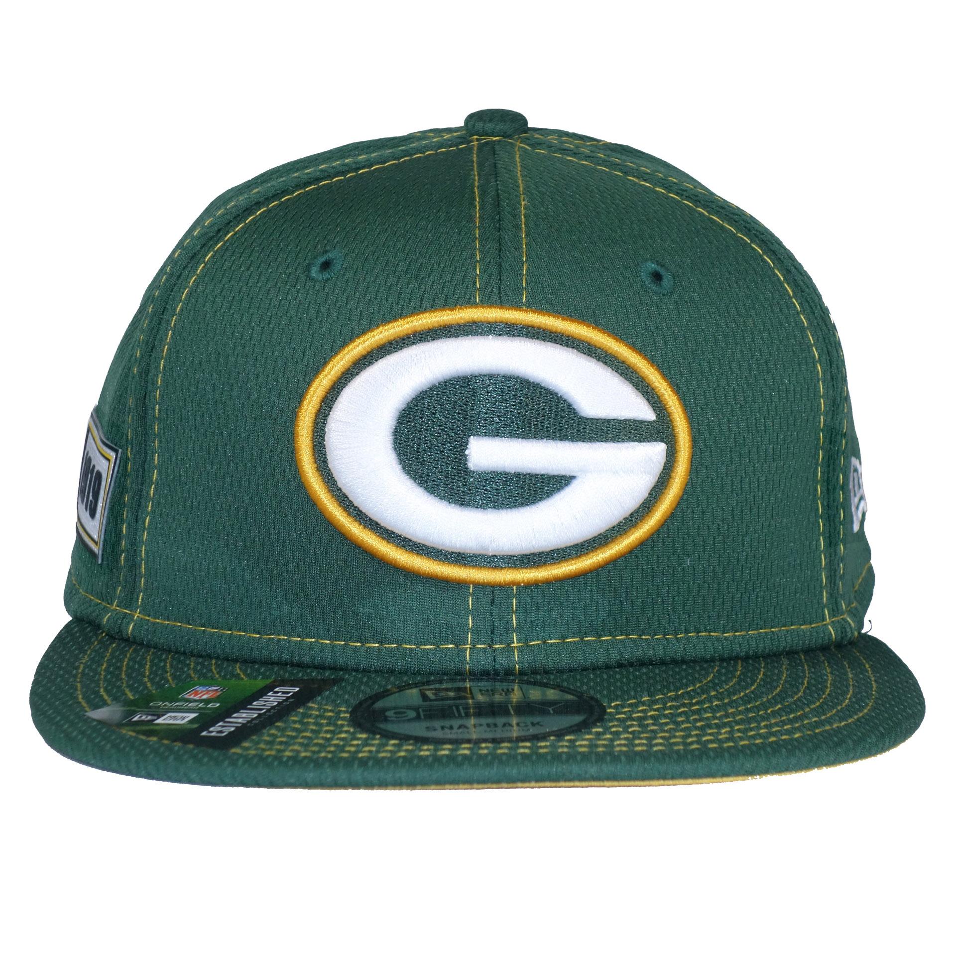 NFL New Era Cap SnapBack Green Day Packers
