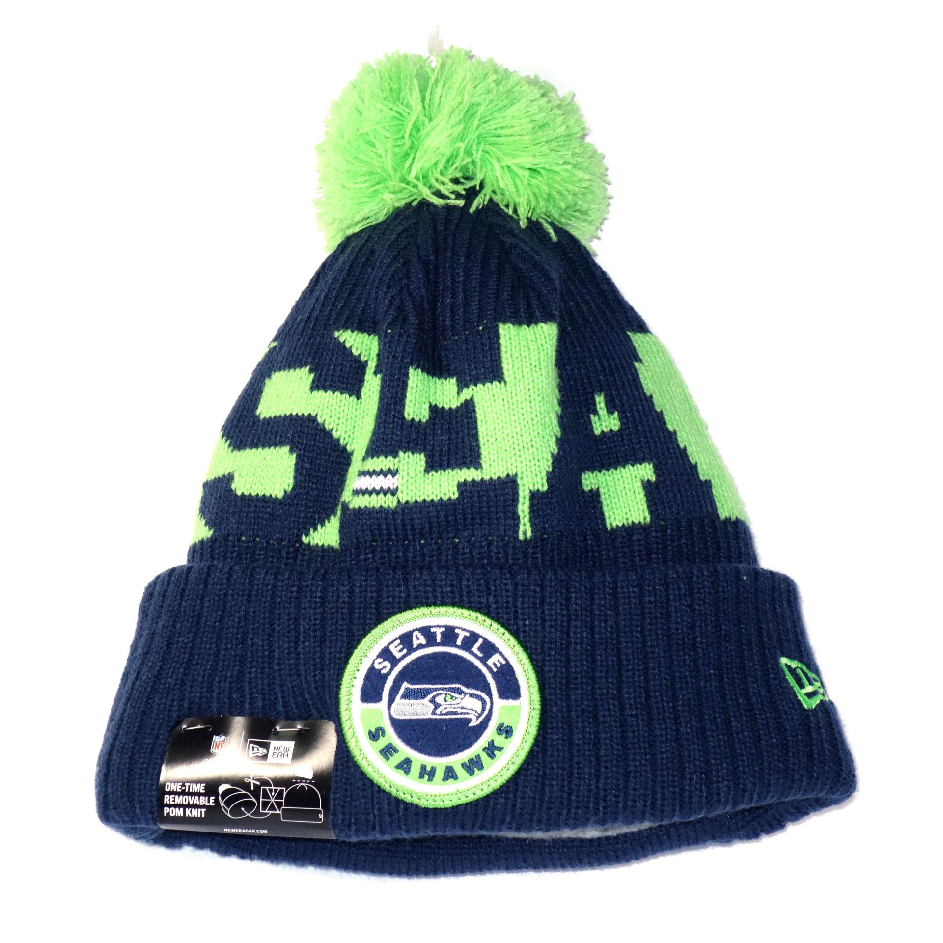 NFL Beanie Strickmütze Seattle Seahawks