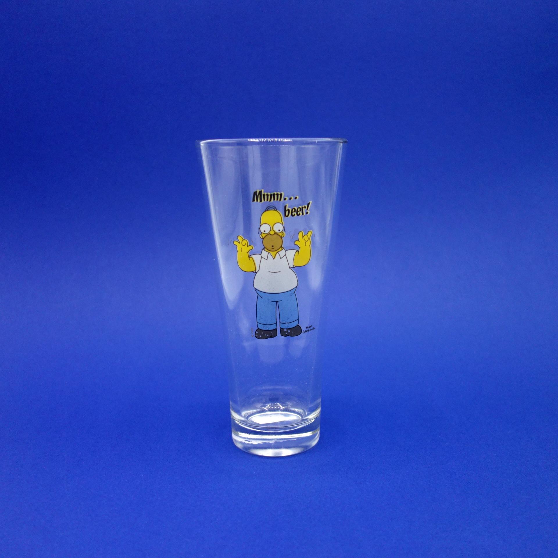 Trinkglas Homer Simpson The Simpsons