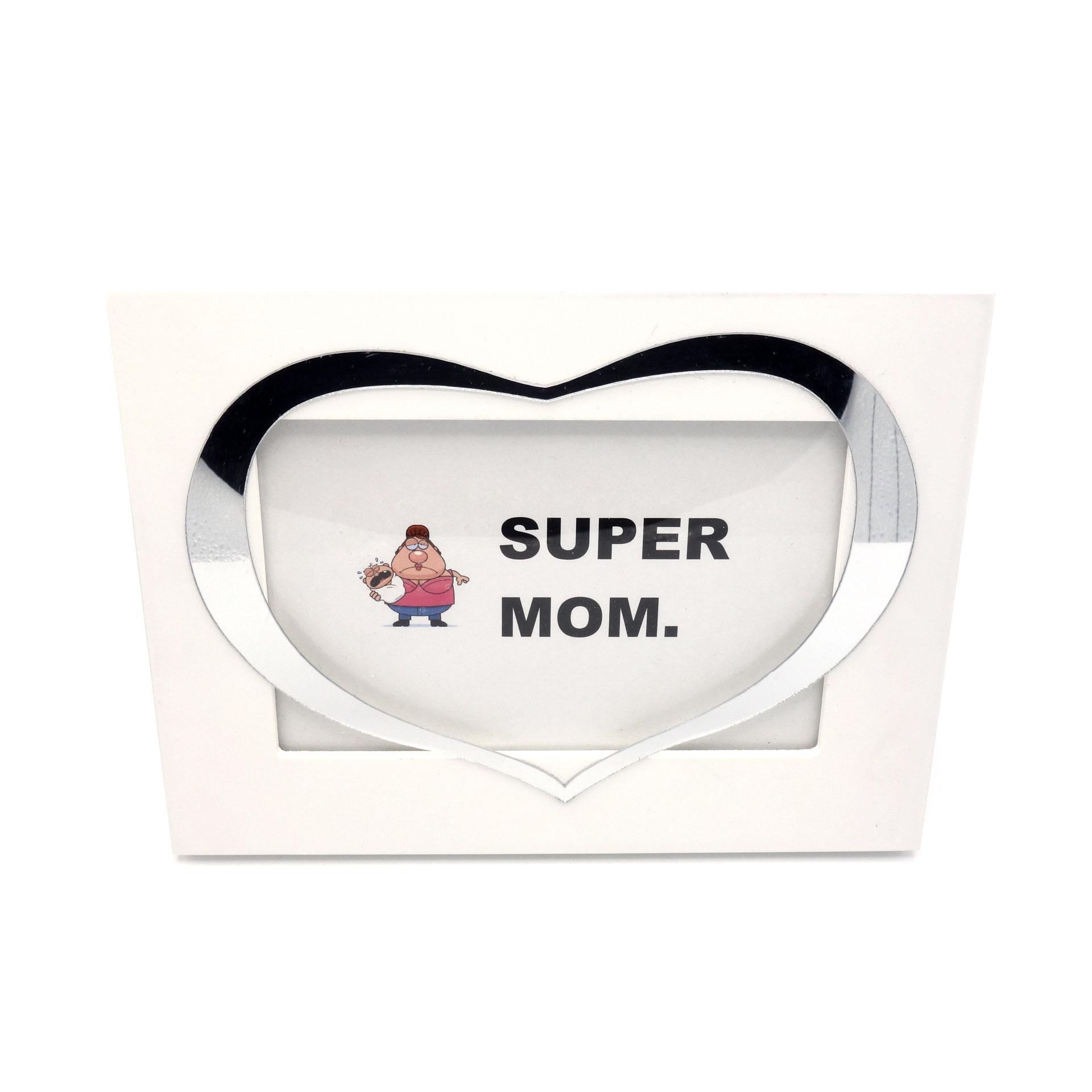 Bilderrahmen Super Mom Mama