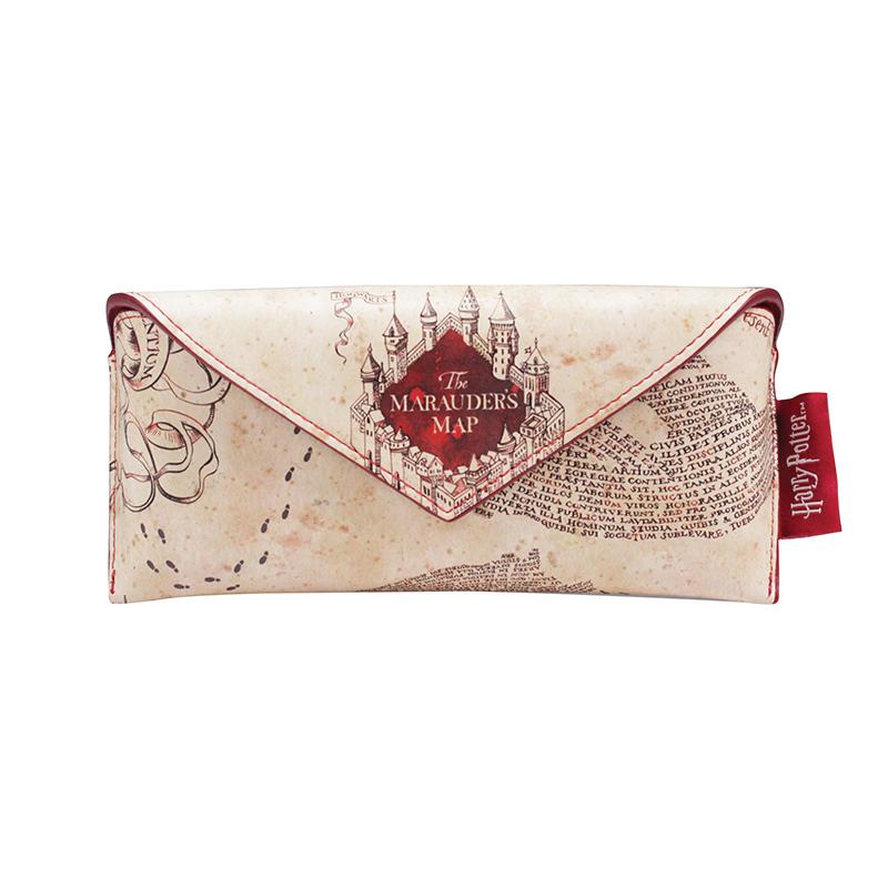 """Harry Potter Brillenetui Brillentasche """"The Marauder's Map"""""""