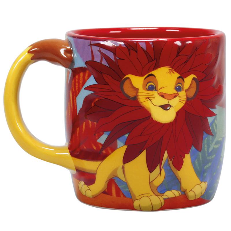Disney Der König der Löwen 3D Tasse Embossed Mug