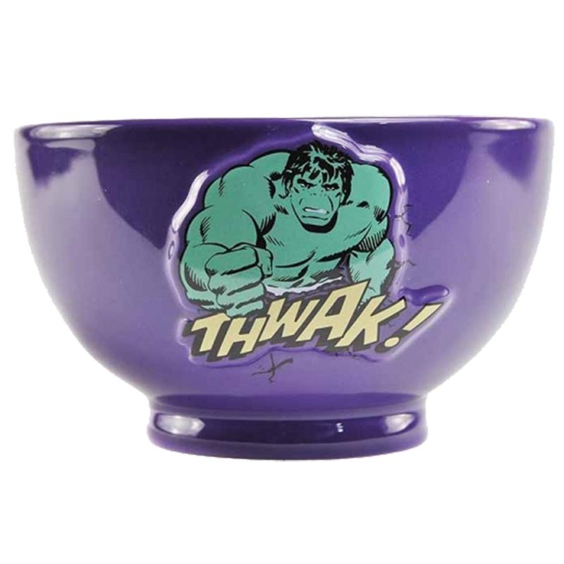 Hulk Schüssel mit 3D Motiv Embossed Bowl