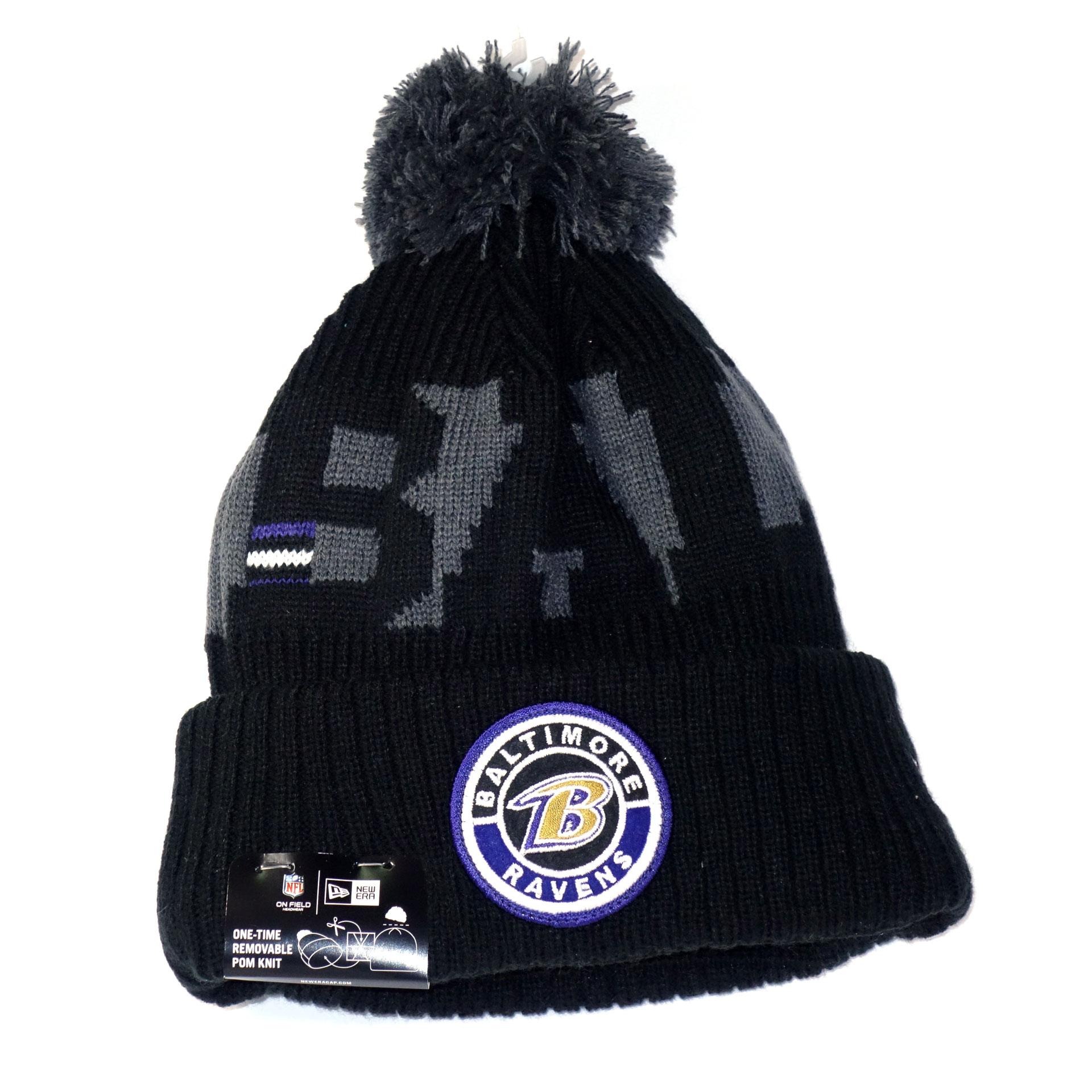 NFL Beanie Strickmütze Baltimore Ravens