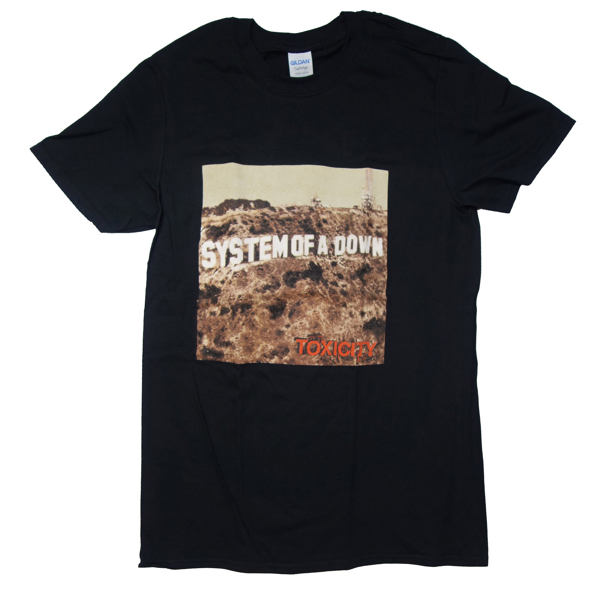 T-Shirt System Of A Down Toxicity
