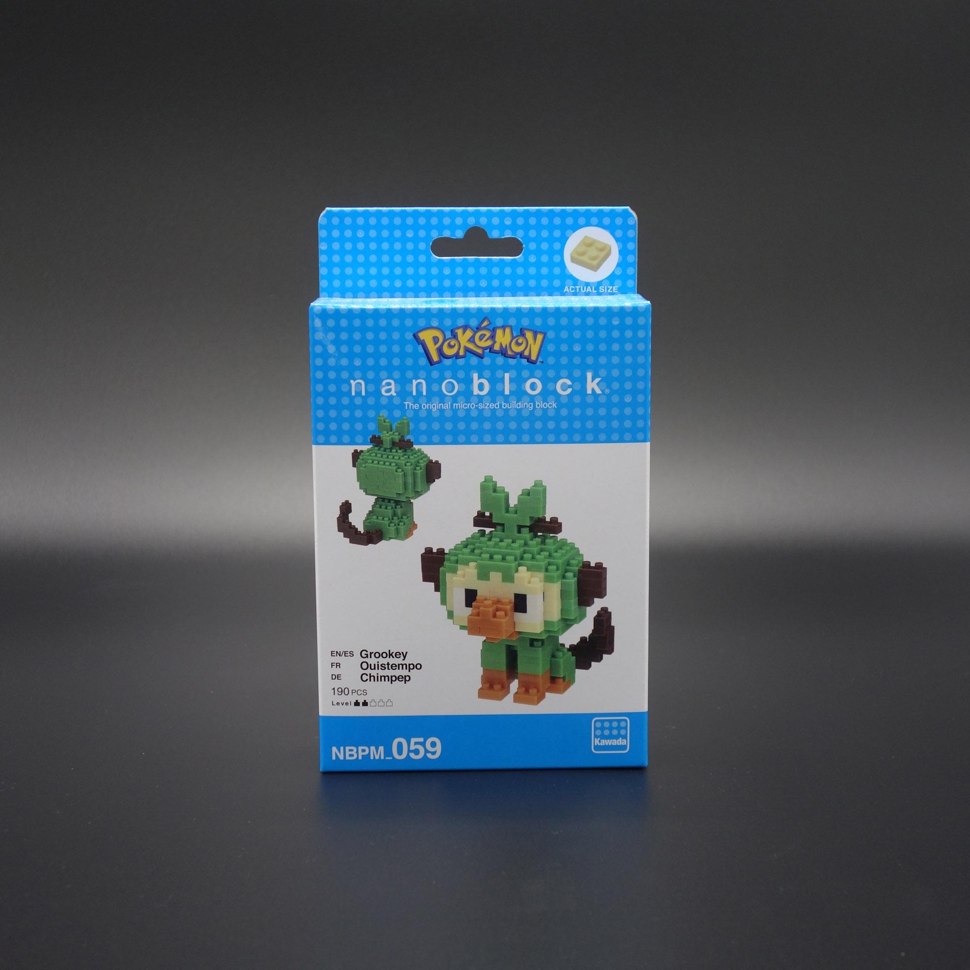 Pokemon nanoblock Chimpep