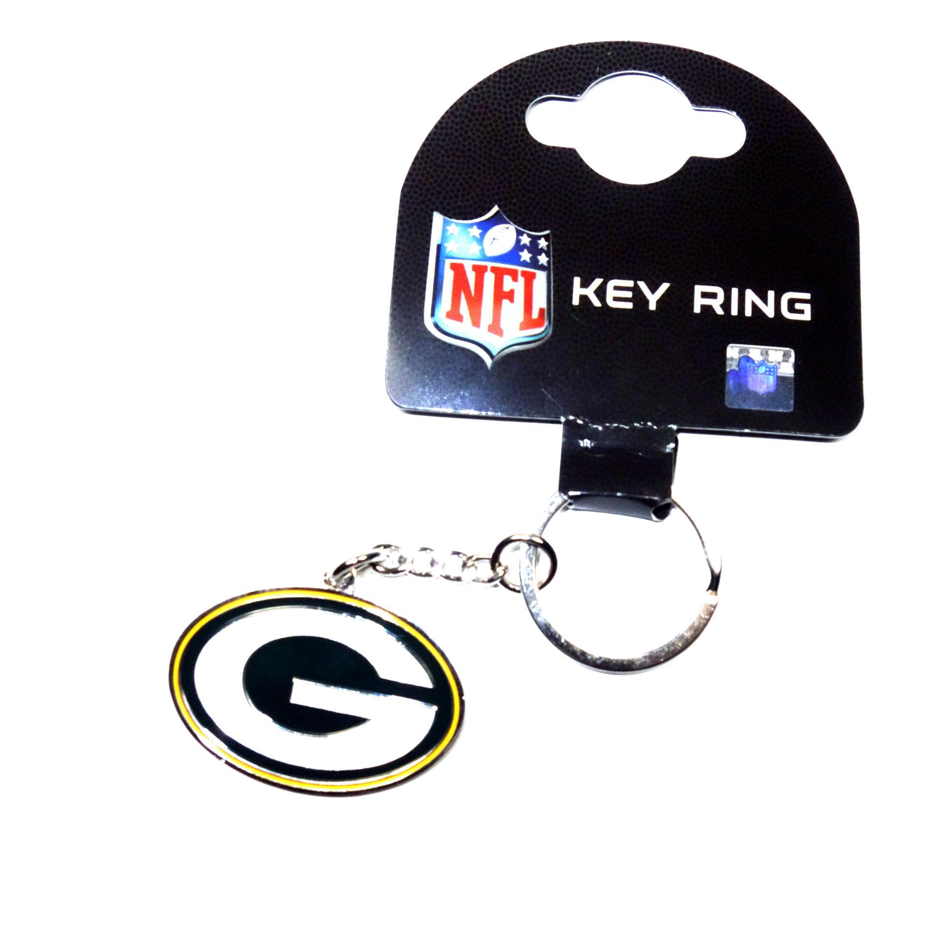 NFL Schlüsselanhänger Green Bay Packers Logo