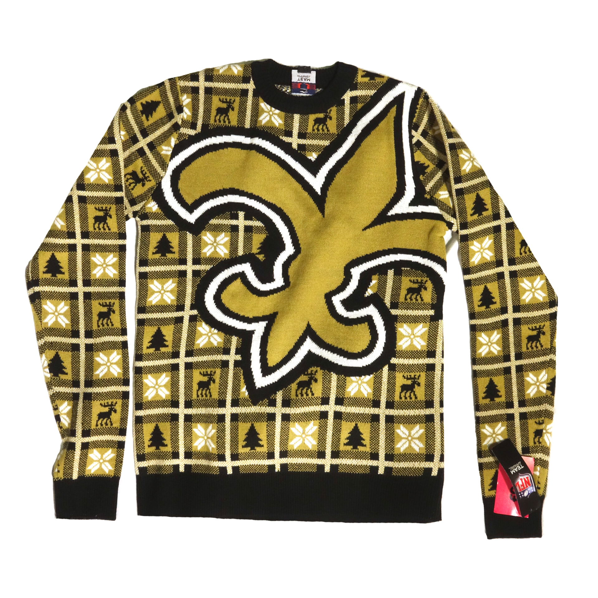 NFL Pullover Christmas New Orleans Saints Ugly Sweater