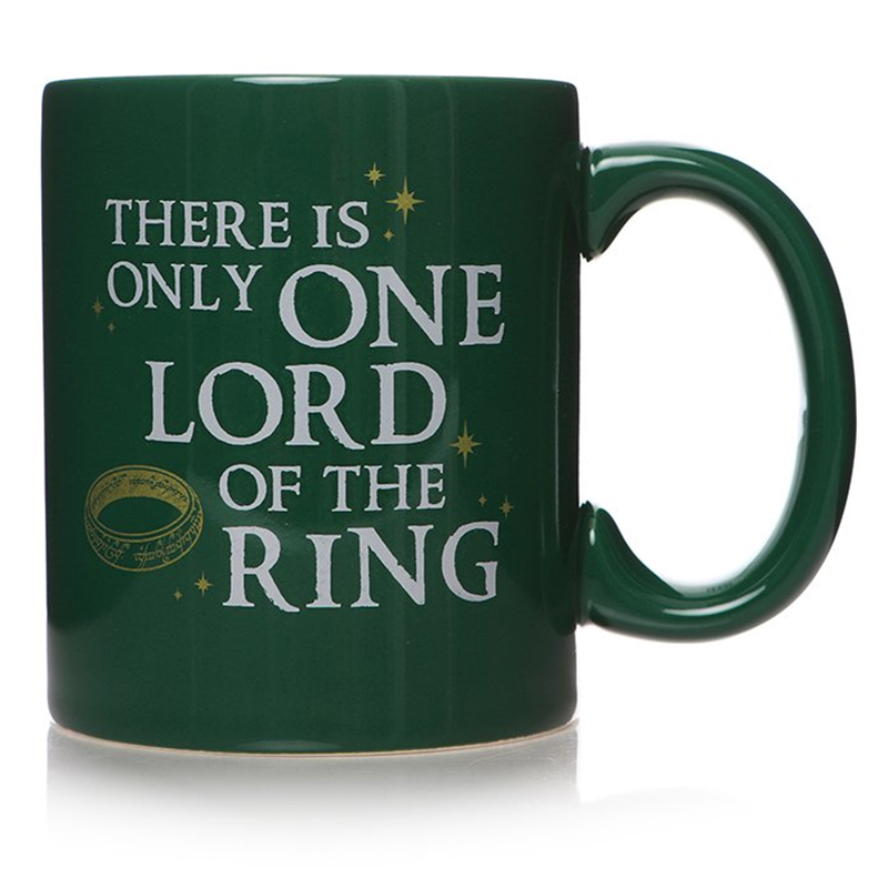"""Der Herr der Ringe Tasse """"There is only one Lord of the Rings"""" Ceramic Mug"""