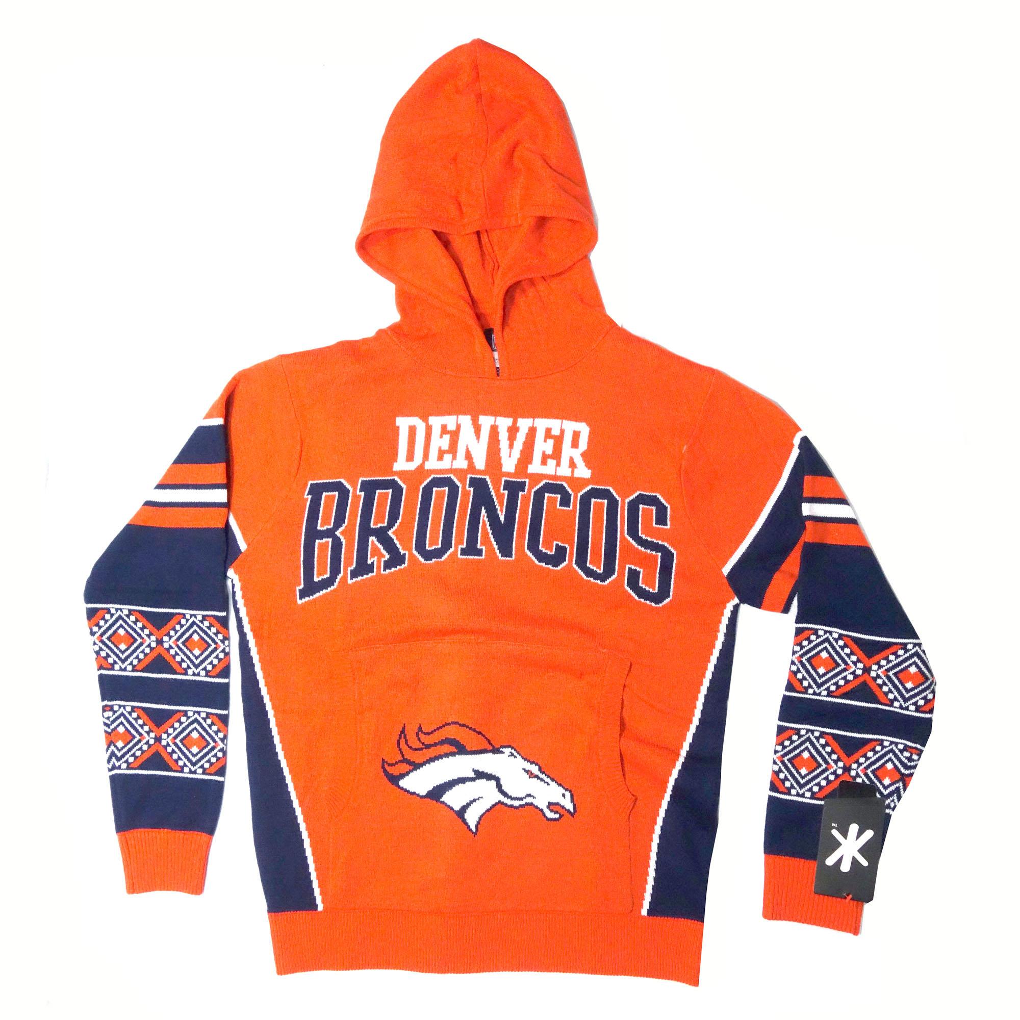 NFL Kapuzenpullover Denver Broncos Schrift