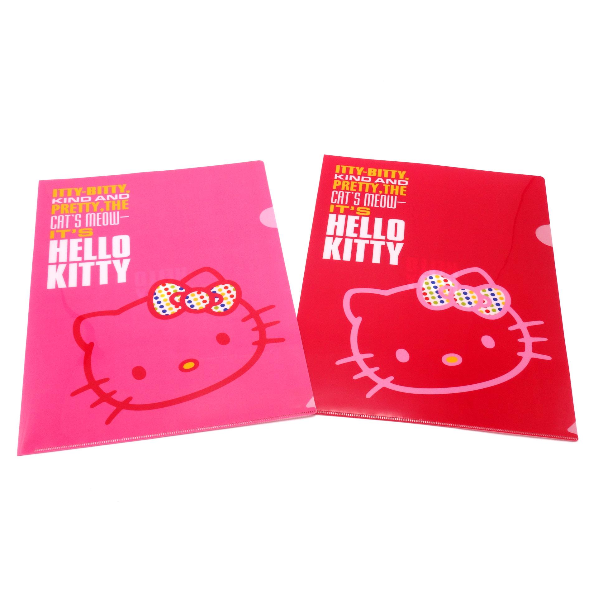 Hello Kitty Dokumente Mappe 2er Set Itty-Bitty