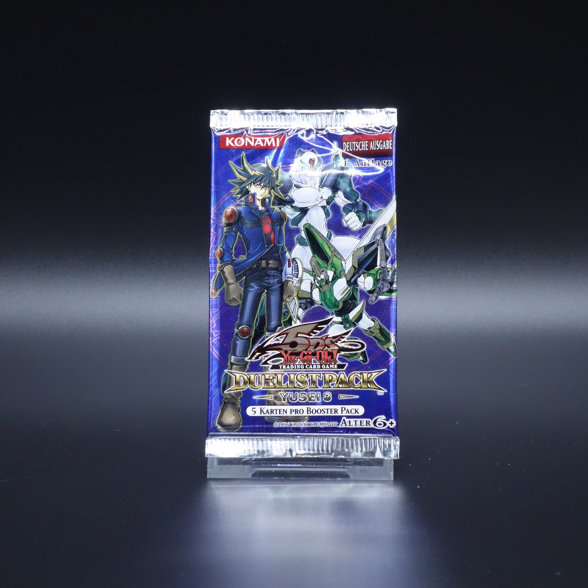 YuGiOh Duelist Pack Yusei 3 Booster Pack