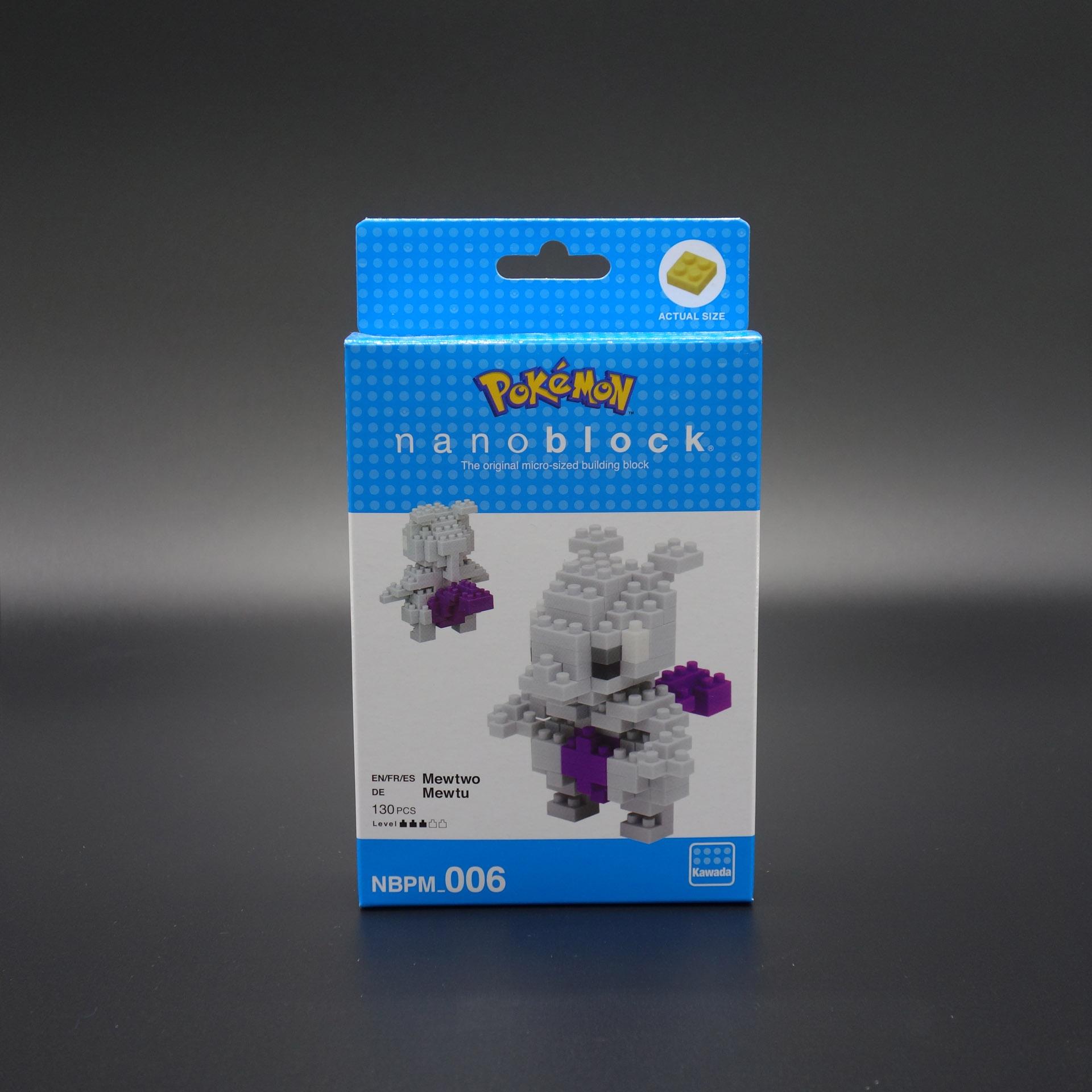 Pokemon nanoblock Mewtu