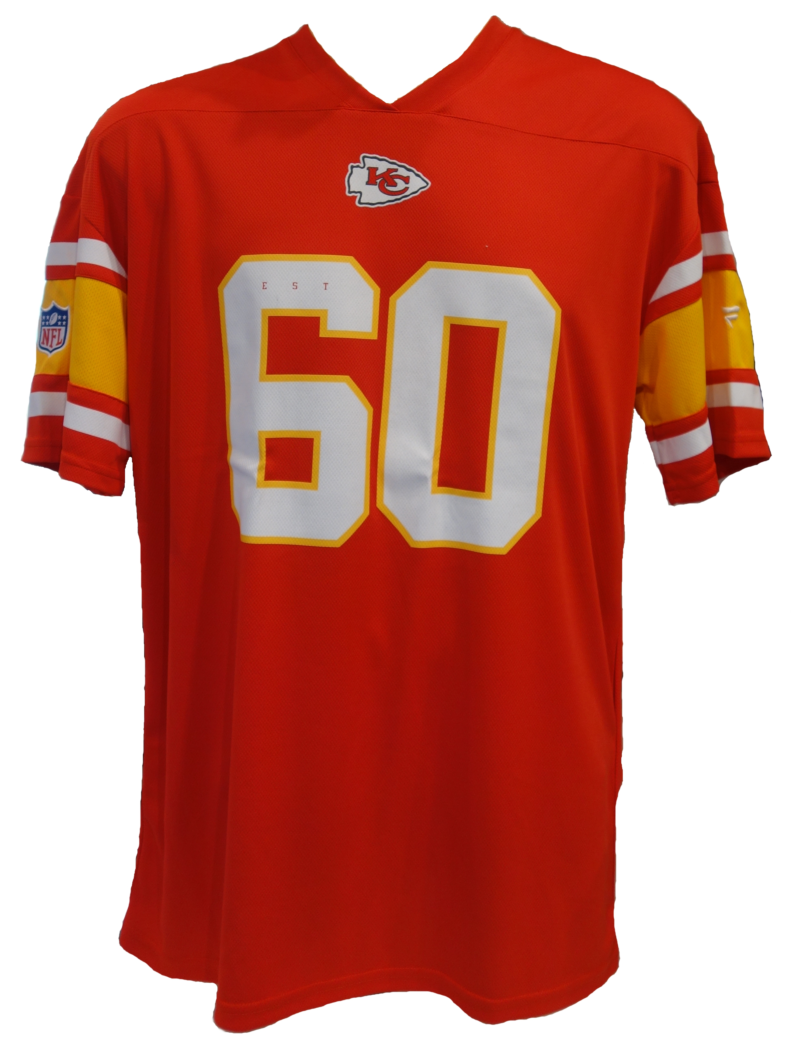 NFL T-Shirt Kansas City Chiefs Poly Mesh Nr.60