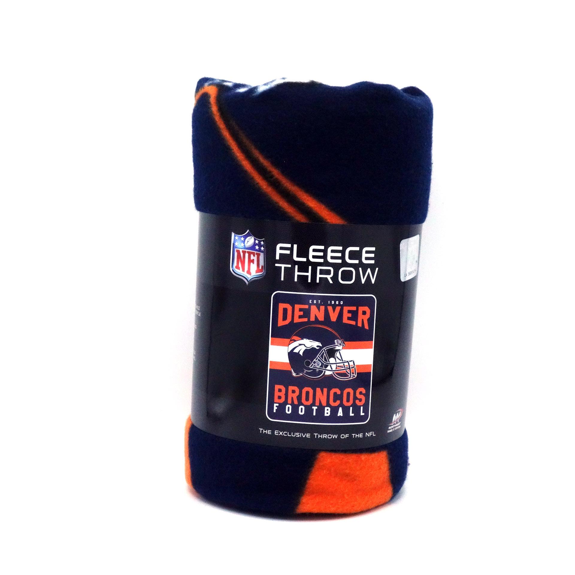 NFL Fleecedecke Denver Broncos